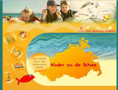 Printscreen www.ostsee-kinder-land